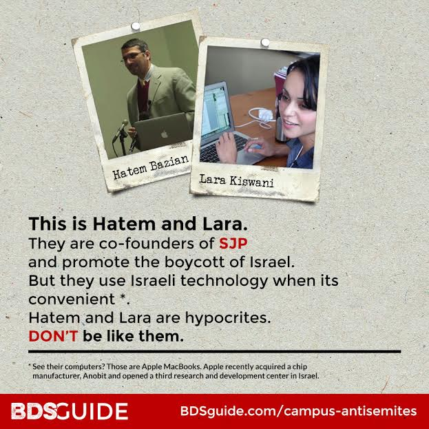 Campus antisemites, Lara Kiswani and Hatem Bazian