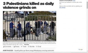 CBS focus on terrorist deaths not Israeli victims
