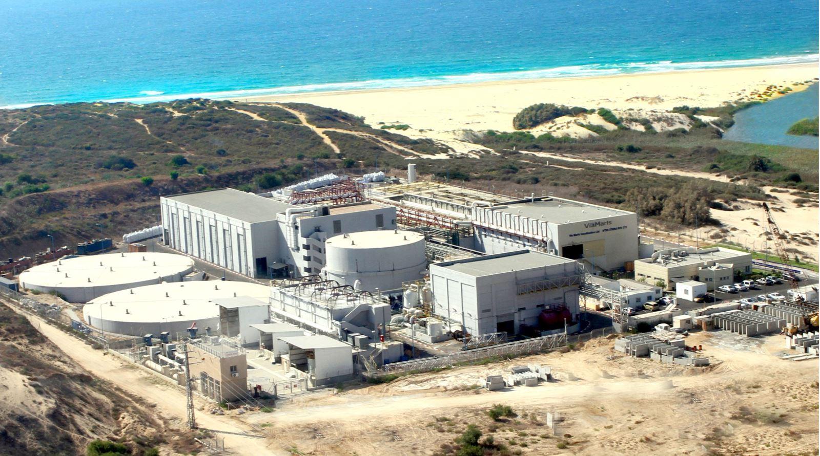 Palmachim desalination plant, Kibbutz Palmachim, Israel
