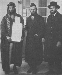 Jews purchasing land from Arab land owner 1920