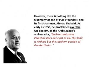 Ahmad Shukeiri on Palestinians, 1956