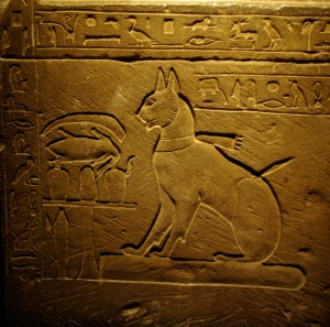 Egyptian hieroglyphics depict what some believe are ancestors of modern Felinestinians
