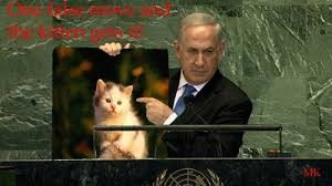 Israeli Prime Minister, Benjamin Netanyahu sets out his red lines for Felinestinians to the U.N. Security Council