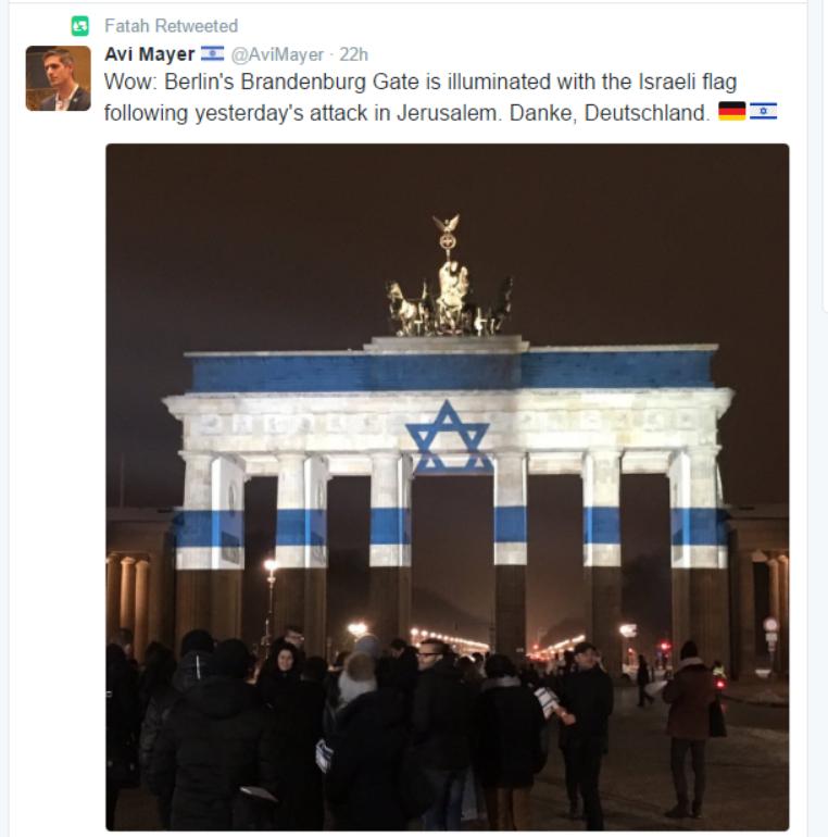 Fatah Twitter hacked